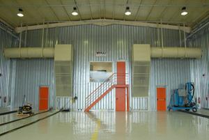 Custom Abrasive Blast Facility