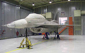 F-16 After Stripping