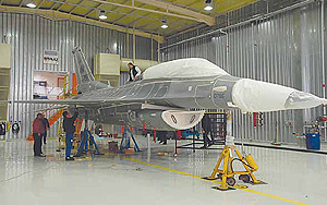 F-16 Before Stripping