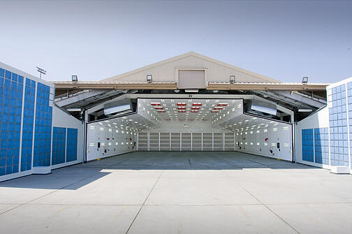 F 22 Paint Booth