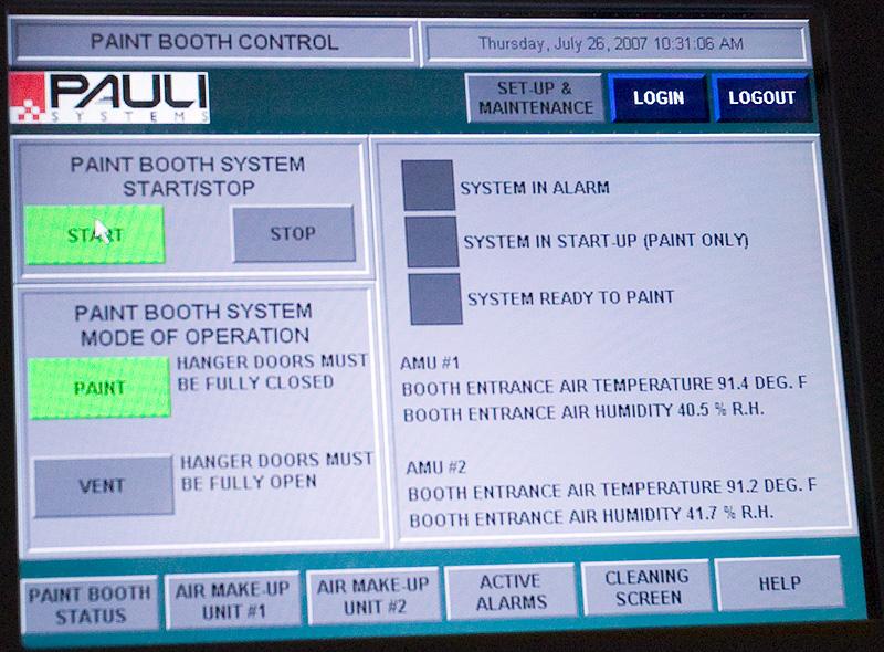 HMI Control Interface