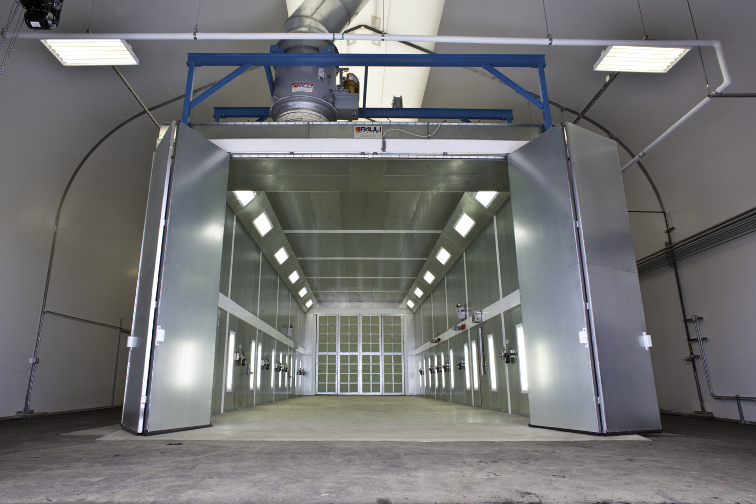 Paint Booth 20' wide x 17' high x 60' long