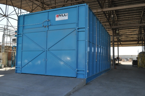 USAF Component Overhaul Paint Stripping Booth 20' wide x 16' high x 40' long