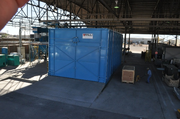 USAF Component Overhaul Paint Stripping Booth