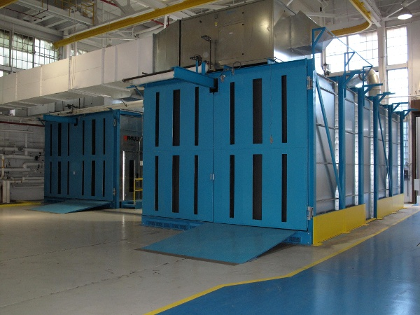 Dual Blast Rooms at US Naval Air Station